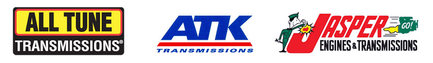 All Tune Transmissions, ATK Transmissions and Jasper Engines & Transmissions logos